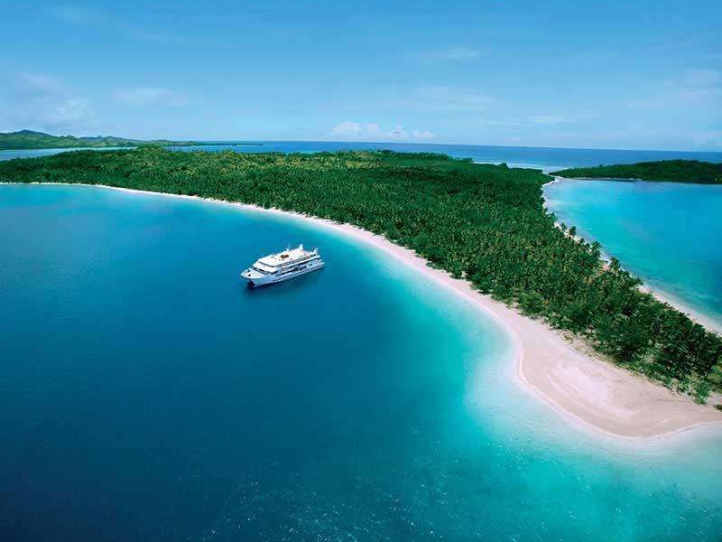 Fidji - Croisières Blue Lagoon - Fiji Princess à Nanuya Lailai