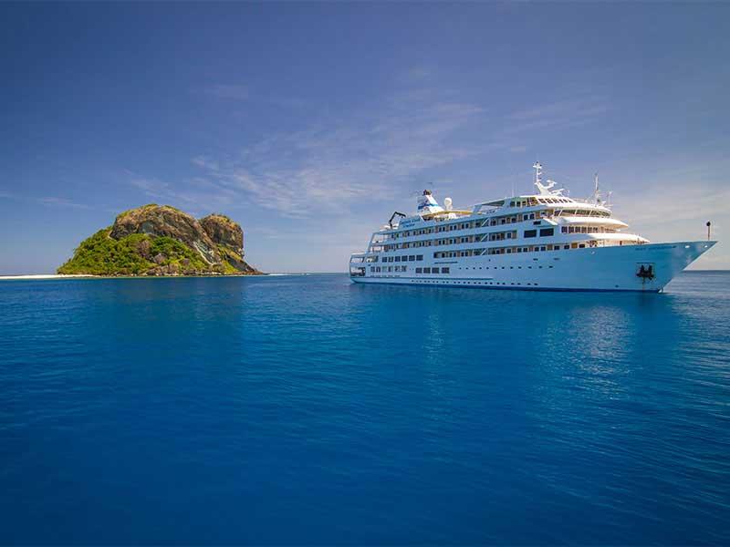 Fidji - Croisière Captain Cook Cruises - Reef Endeavour