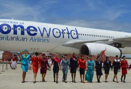One World © Srilankan Airlines