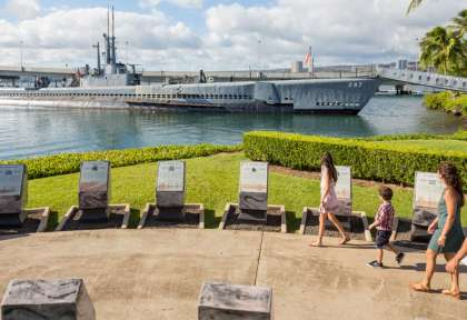 Hawaii - Oahu - Memorial Pearl Harbor © HTA - Tor Johnson