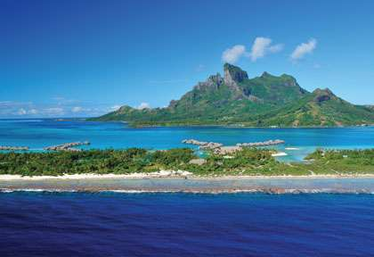 Le Four Seasons de  Bora Bora