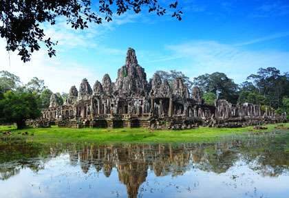Temple Angkor au Cambodge